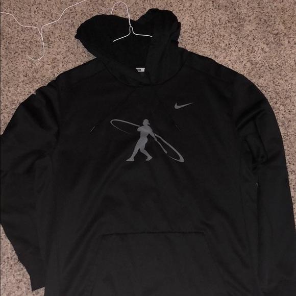 049ee4dc9f0 Jackets & Coats | Nike Swingman Baseball Hoodie | Poshmark
